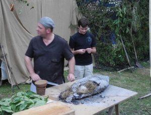 marché potier limeuil cuisson préhistorique